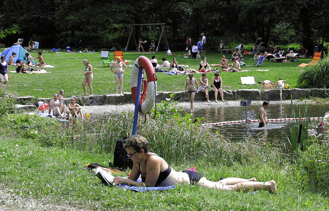 Das  Naturbad in Sulzburg hat viele Fa... nicht gesundheitsgefährdend waren.     | Foto: VOLKER MÜNCH