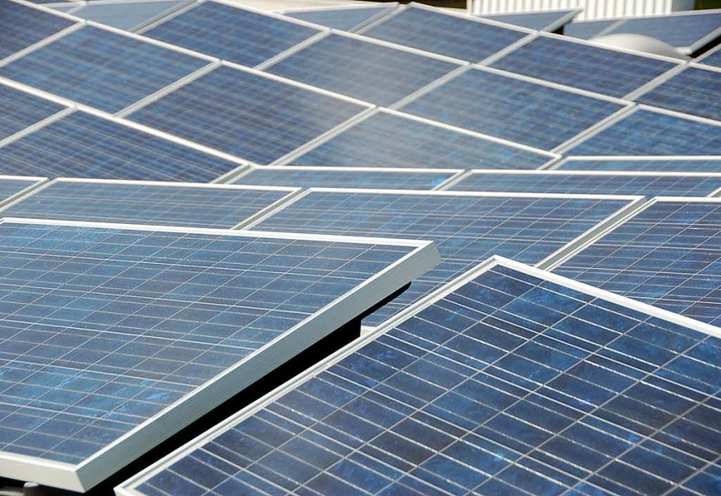 Solaranlagen erwirtschaften  bereits n...e zu ihrer Herstellung notwendig war.   | Foto: Pascal Waldszus