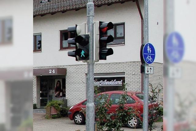 Mit Schildern wider wildes Parken