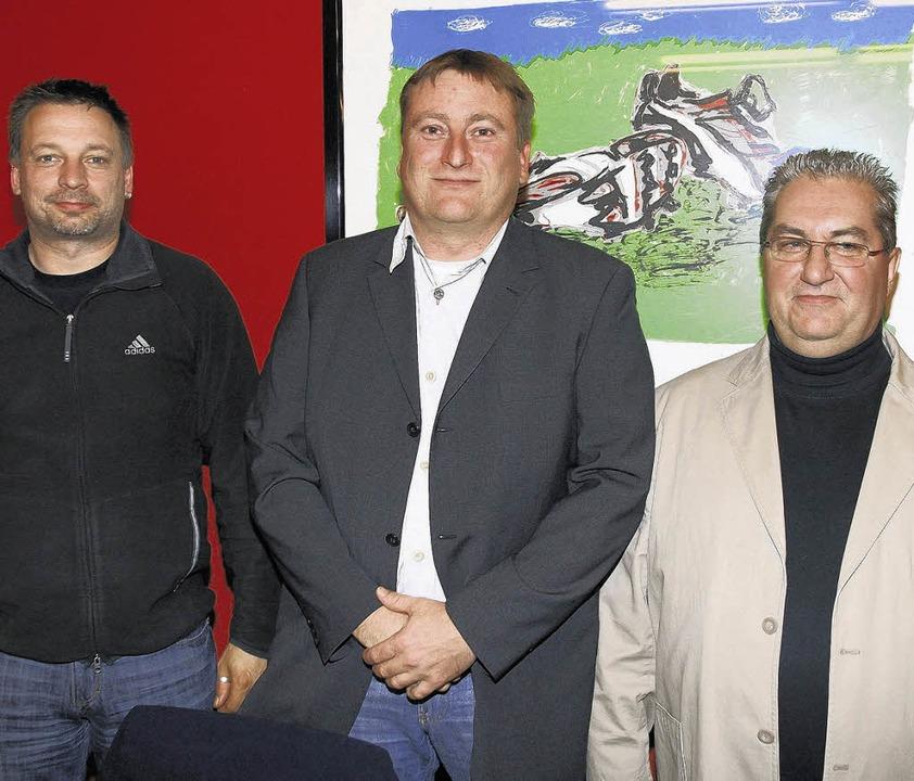 Der VfB Waldshut geht mit dem bewährte...tretenden Vorsitzenden Klaus Fricker.     Foto: Neubert