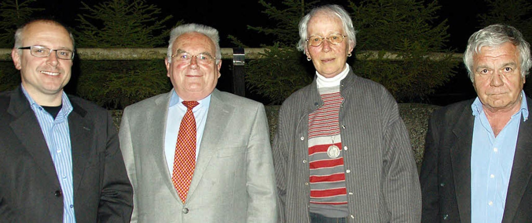 Die Geehrten des CDU-Stadtverbandes Wehr  | Foto: Krug