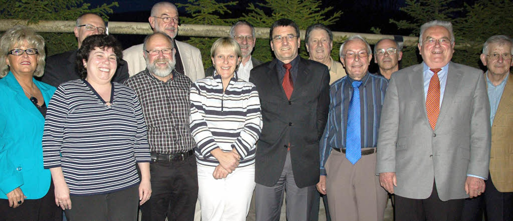 Der Vorstand des CDU Stadtverbandes Wehr  | Foto: Krug