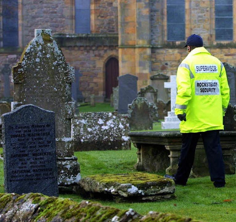 Obwohl Bestattungen in Armengräbern in...n Bürger, dass es sie überhaupt gibt.   | Foto: AFP