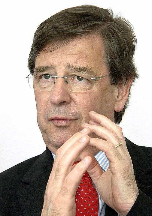 Willi Stächele     Foto: Grabherr