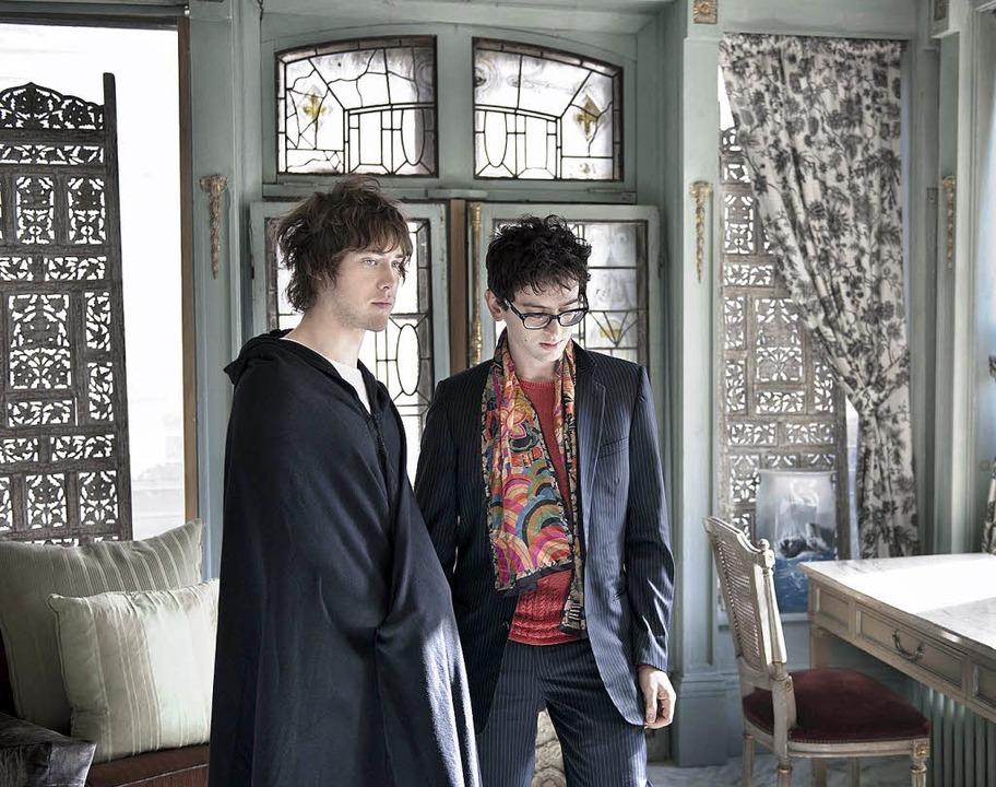 Im Kunststudium waren sie Kommilitonen...en (l.) und Ben Goldwasser sind MGMT.   | Foto: pro
