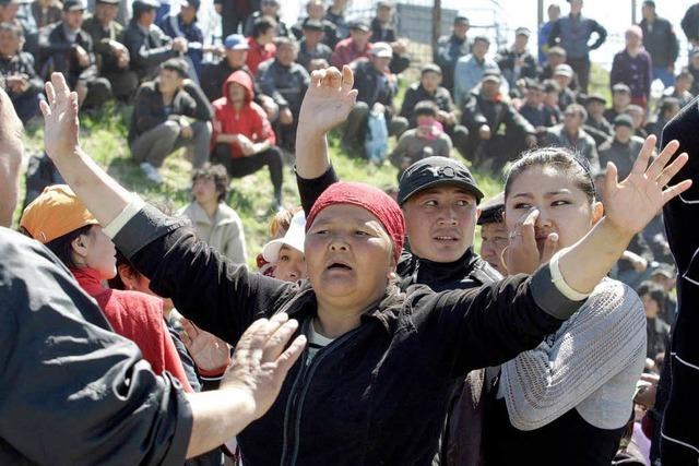 Neue Unruhen in Kirgisistan