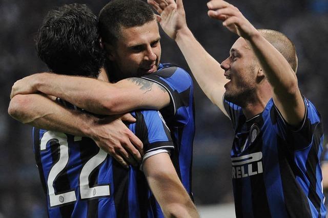 Champions League: Inter schlägt Barca mit 3:1