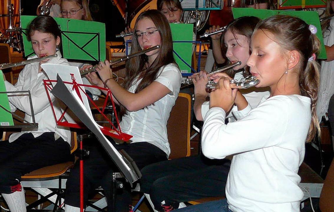Viele Mitwirkende wird das Bürgerhausf...n – hier das Vorstufenorchester.    Foto: Eberhard Weiß