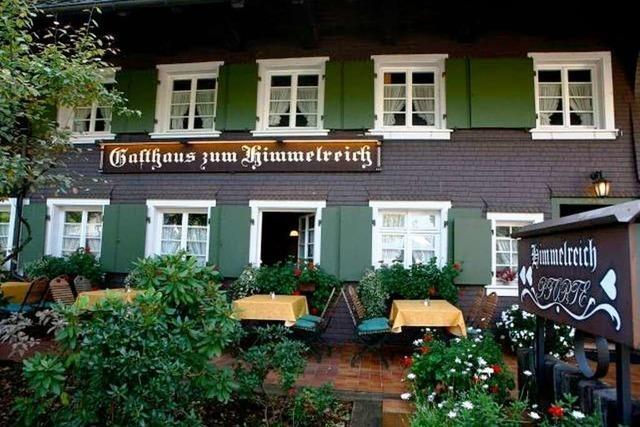 Zum Gasthaus zum Himmelreich auf dem Tarodunum-Rundweg