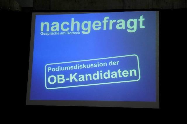 Fotos: OB-Kandidaten bei