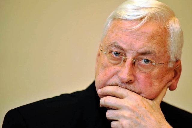 Zollitsch: Mixa soll Amt vorübergehend ruhen lassen