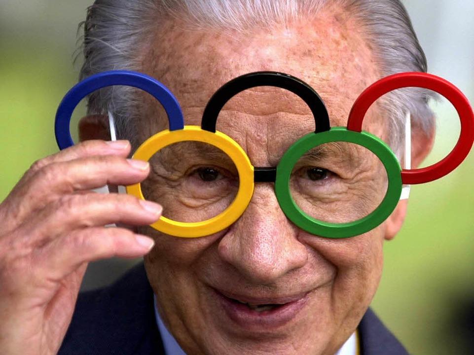 Herr der Ringe: Samaranch stand dem IOC von 1980 bis 2001 vor.  | Foto: dpa
