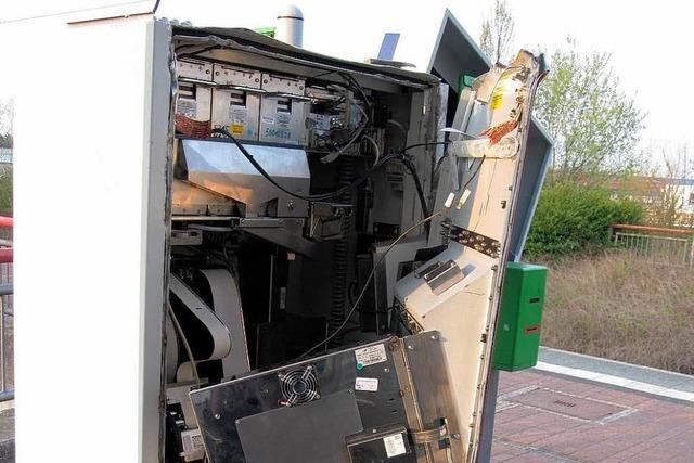 Polizei nimmt Automatenaufbrecher fest