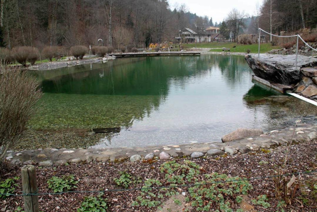 Der Badesee in Birkendorf ist für die ...arif gehört aber der Vergangenheit an.    Foto: Wilfried Dieckmann