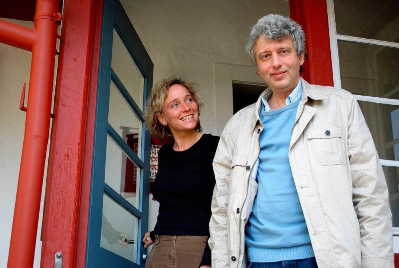 Monika Miklis und Itamar Baum laden ins Jüdische Museum ein.    Foto: Sylvia-Karina Jahn