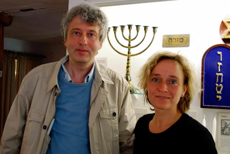 Monika Miklis und Itamar Baum im Museu...m Sommer eine Sonderausstellung zeigt.    Foto: Sylvia-Karina Jahn