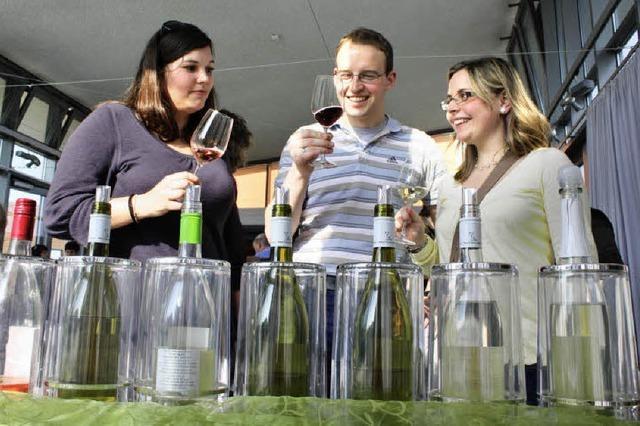 Frühlingsgefühle im Weinglas