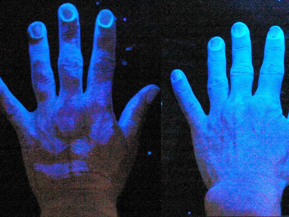 Hygieneregel Nummer eins: Händewaschen    Foto: helios-klinik