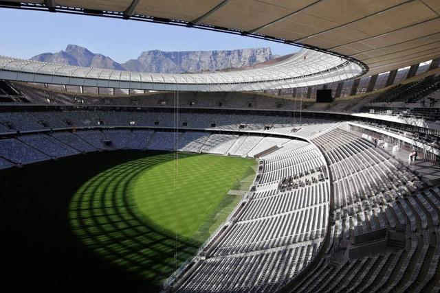 Südafrikas WM-Stadien: Mit eingebauter La Ola