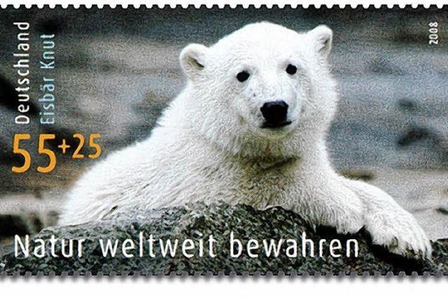 Briefmarke auf Reisen