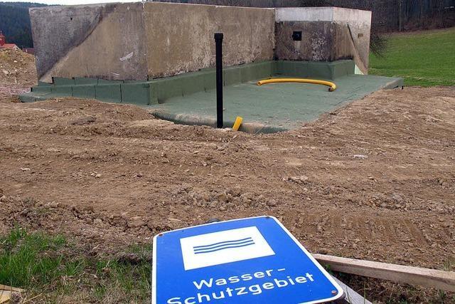 Wasserkammer ist in Betrieb