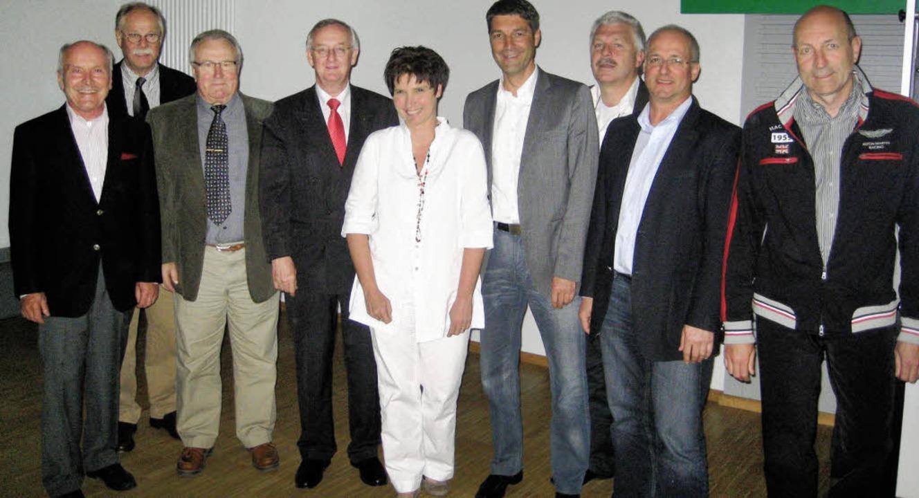 Das neue Vorstandsteam des Golfclubs B...rle, Martin Zimmermann und Bernd Duri.  | Foto: Privat