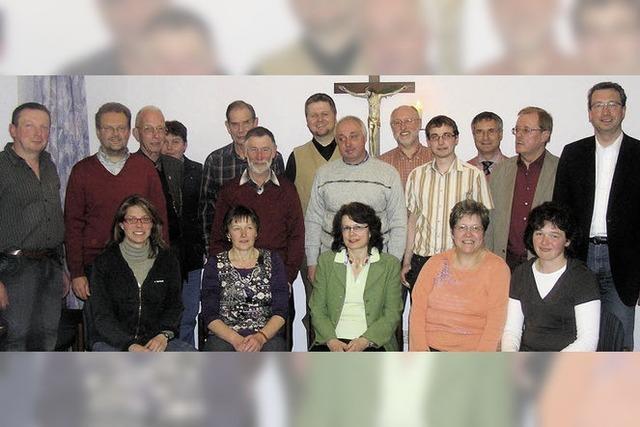 In fünf Jahren folgt der gemeinsame Pfarrgemeinderat