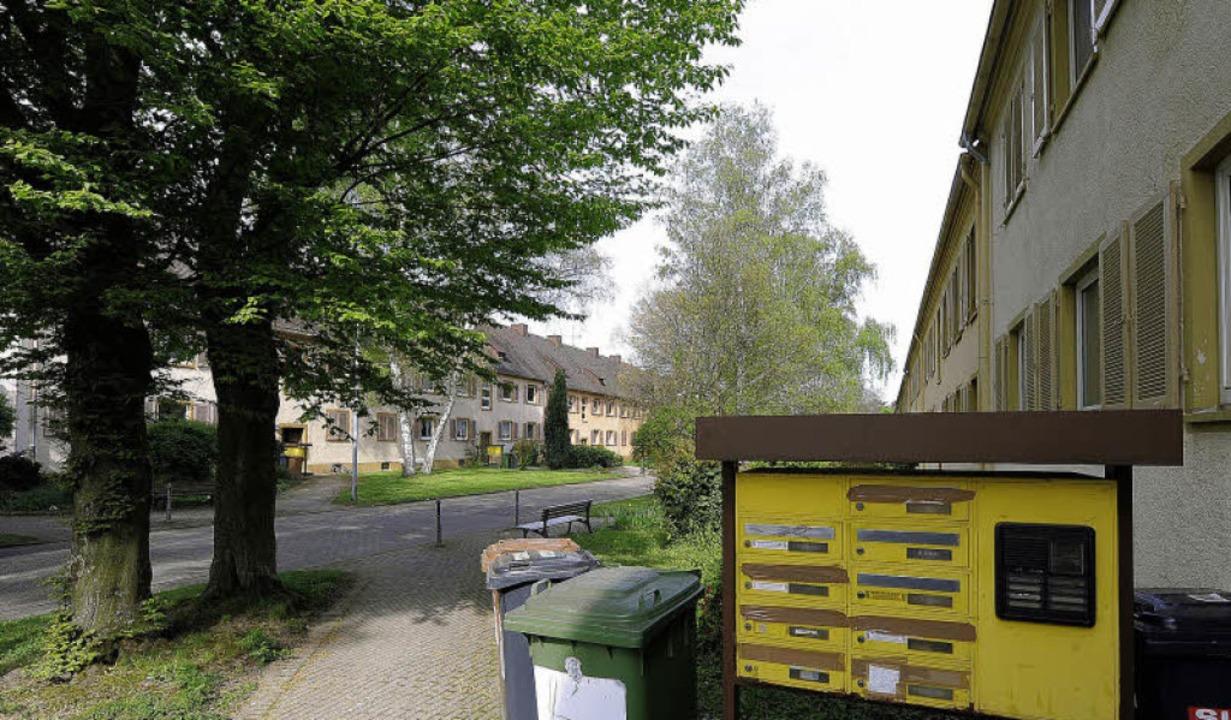Die einstigen Kleinrentner-Wohnungen a...der Bürgerverein ein Mitspracherecht.   | Foto: Ingo Schneider