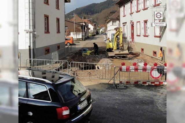Bergwerkstraße wird rechtzeitig fertig