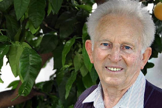 Hans Witt wird heute 80