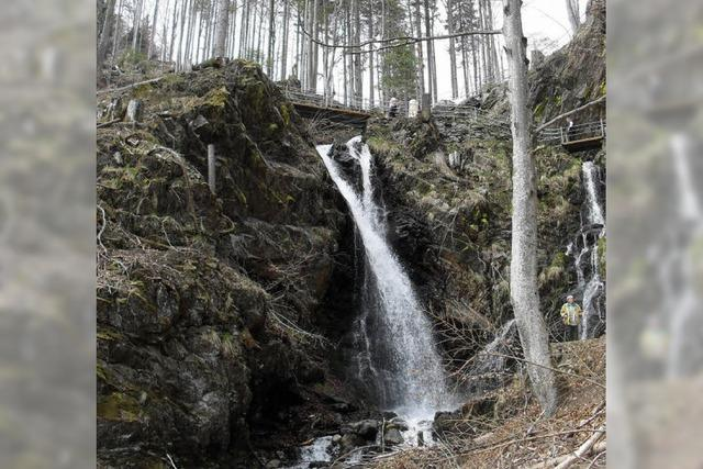 Tosende Wassermassen hautnah erleben