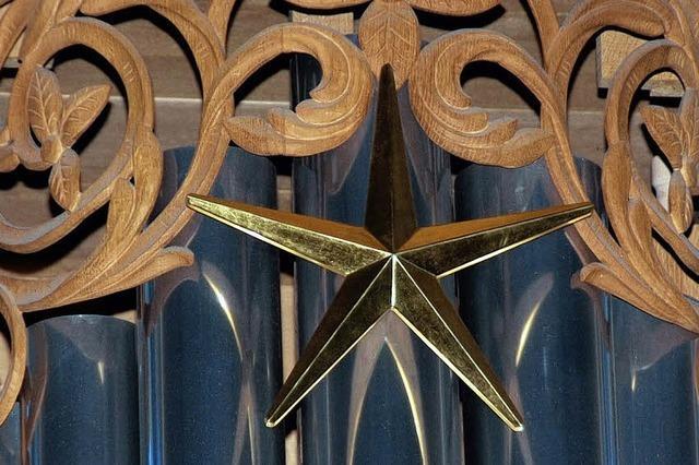 Nach 20 Jahren: ein Zimbelstern für die Metzler-Orgel