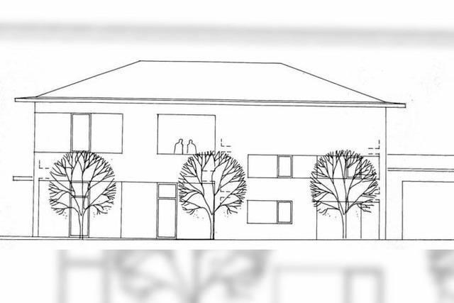 Die Pläne für das neue Bürgerhaus