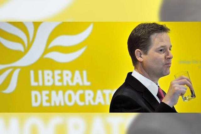 Nick Clegg - Britanniens gelbe Gefahr