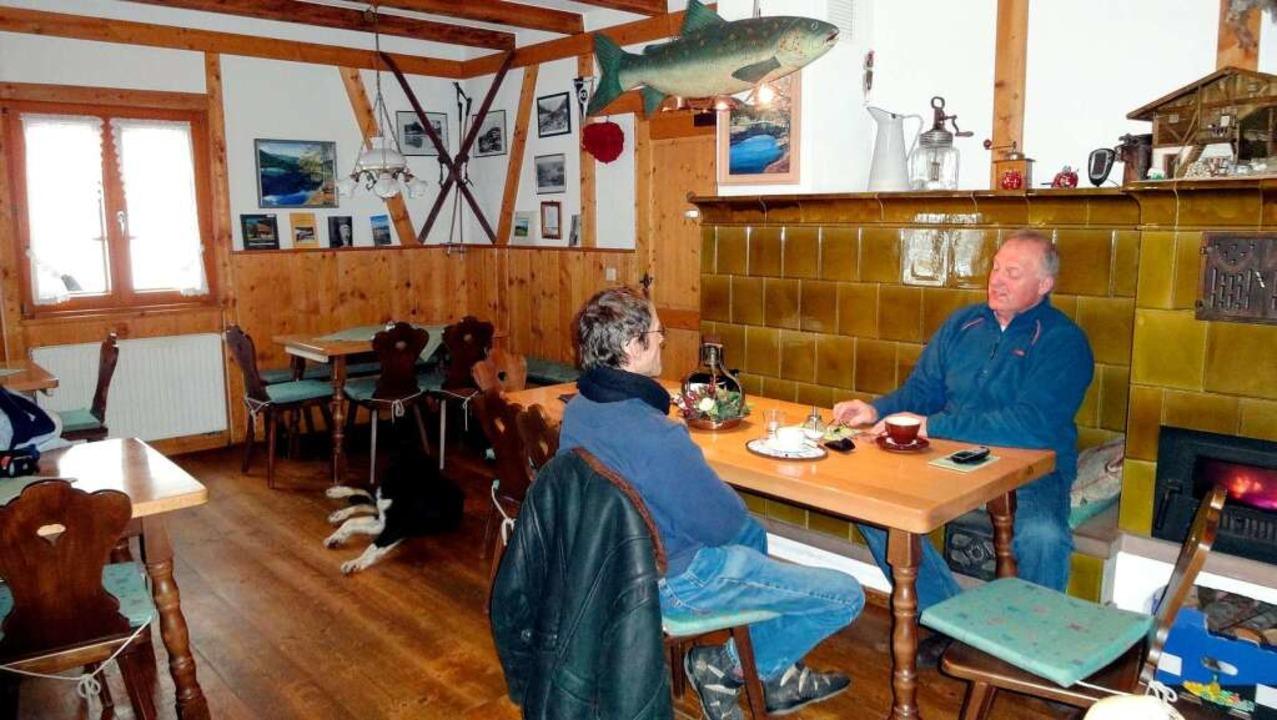 Fischerhütte Nonnenmattweiher    Foto: privat