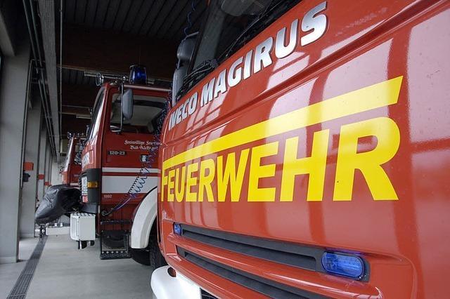 Zu Besuch bei der freiwilligen Feuerwehr