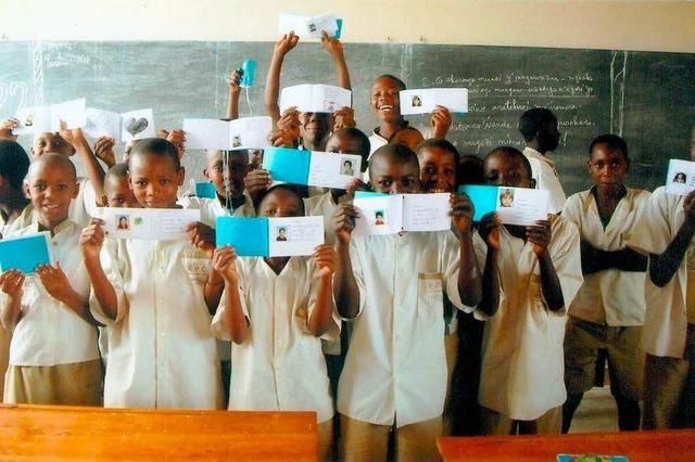 Neue Freunde in Burundi