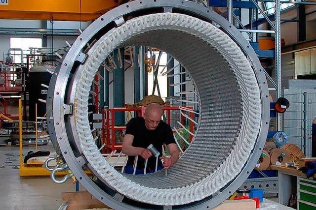WKV eröffnet Generatorenfabrik