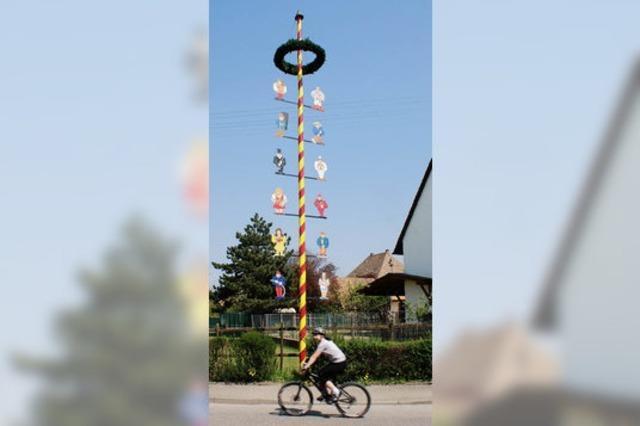 Mai-Hocks als Ziel von Wanderungen oder Radtouren