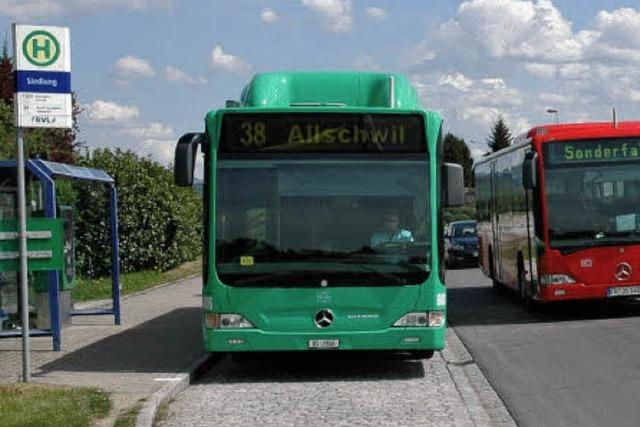 Prüfung der Kosten, Zeiten und Kurse für Buslinie 38