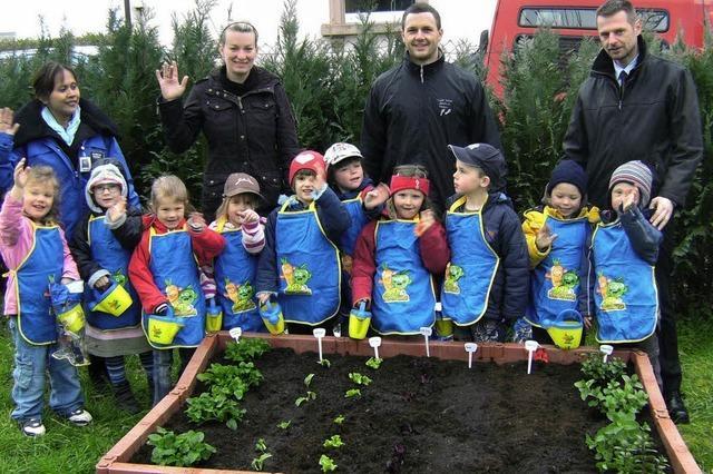 Wo Kinder etwas über Gemüse lernen