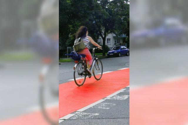Radweg soll sicher werden