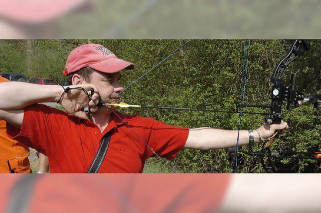 Beste Bedingungen für die Bogenschützen in Wyhl