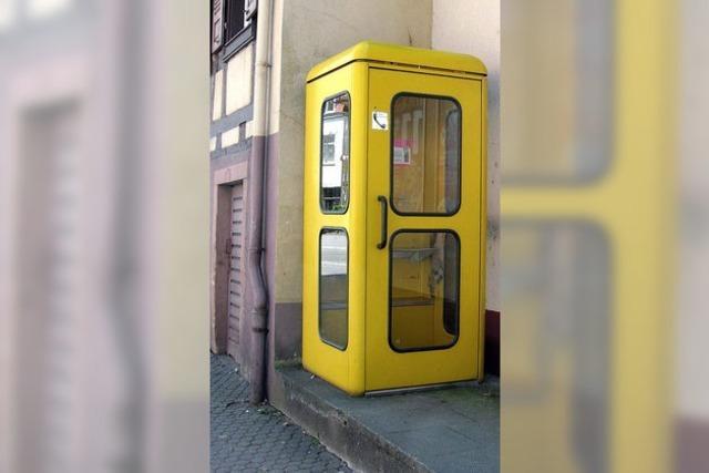 Es werden immer weniger öffentliche Telefone bleiben