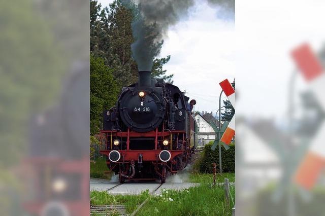 Dampfzugsaison startet am 1. Mai
