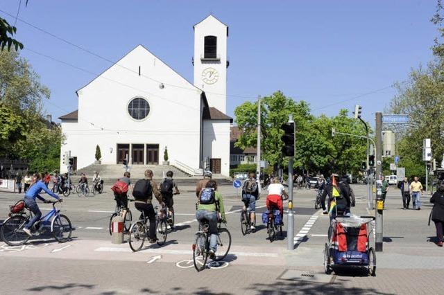 Ohne Konflikte über die Kreuzung