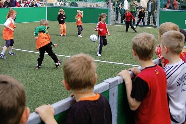 Fußball-Aktionstag baut auf Mädchen