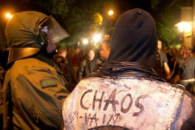 Randale zum 1. Mai: Forderung nach hohen Strafen