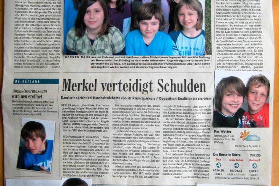 Die Klasse 4 der Johann-Peter-Hebel-Schule, Herbolzheim-Wagenstadt (Foto: privat)