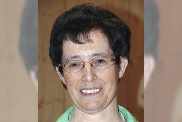 Gertrud Keller gewählt